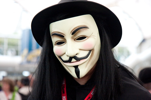 Vendetta Mask by Nathan Rupert CC Flickr