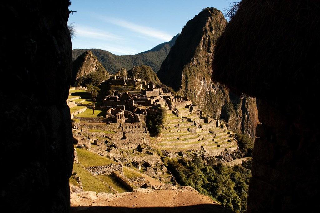 Taking a Different Perspective of Machu Picchu 2010