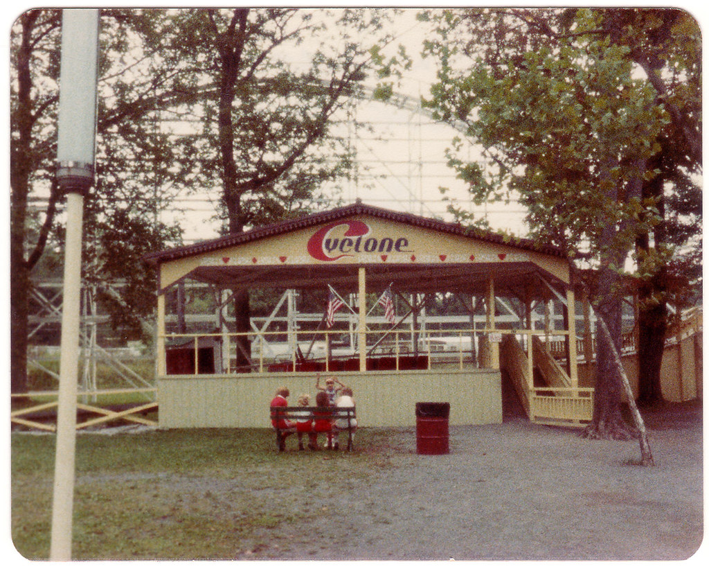 The Cyclone (Boarding Station), Williams Grove Park - 1983