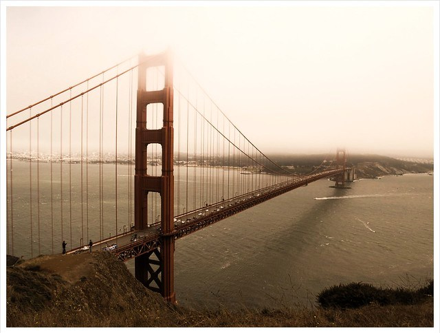 A View of San Francisco's Golden Gate Bridge