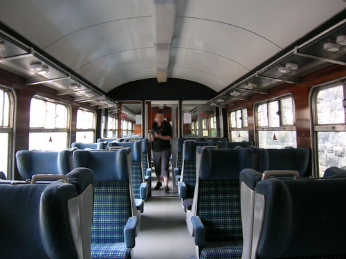 BR Mark II 2nd Class carriage interior
