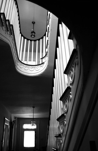 Stair II. Bailey House B&B, Georgetown, Ohio. Photo copyright Jen Baker/Liberty Images; all rights reserved