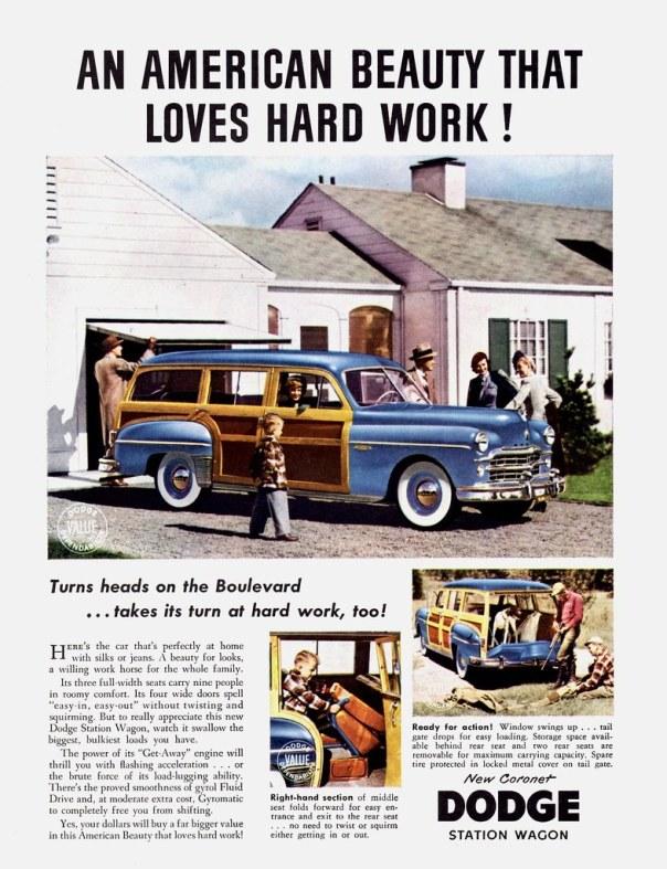 1949 Dodge Coronet Station Wagon