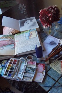 Find Polymer Clay Inspiration Through Art Journaling on KatersAcres Blog
