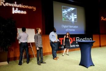 TEDxBoston 2010:Lynwood Walker, Claudia Gold, Matt Gordon