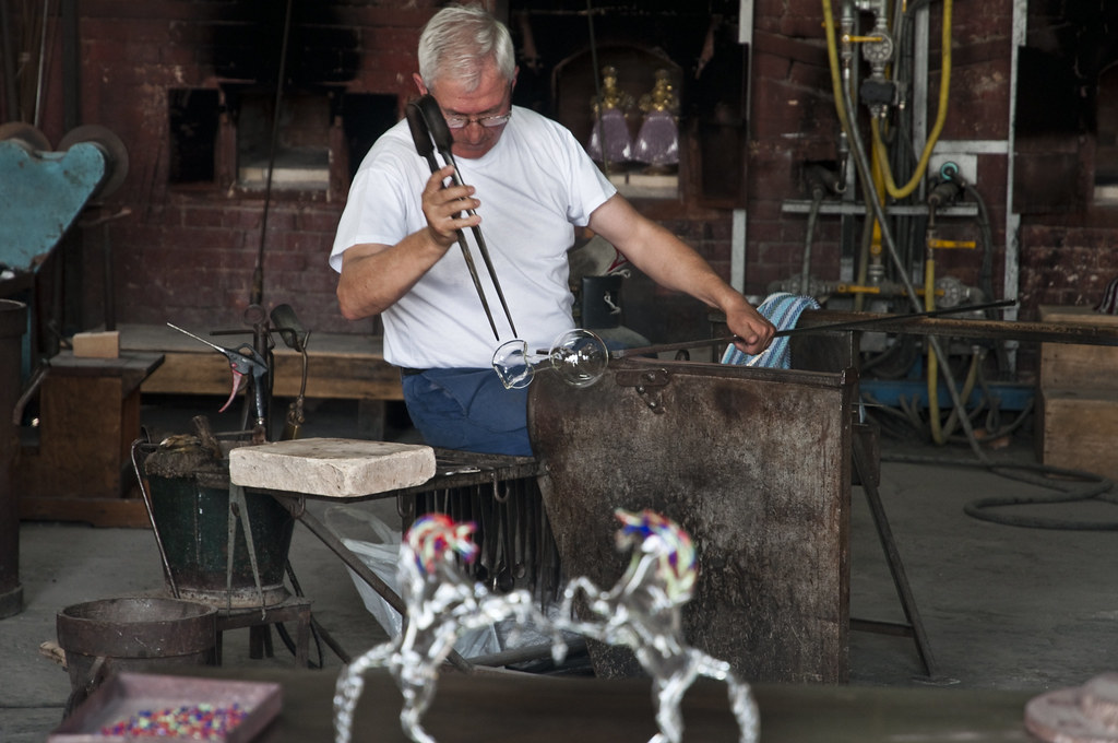 Murano Glass Blower