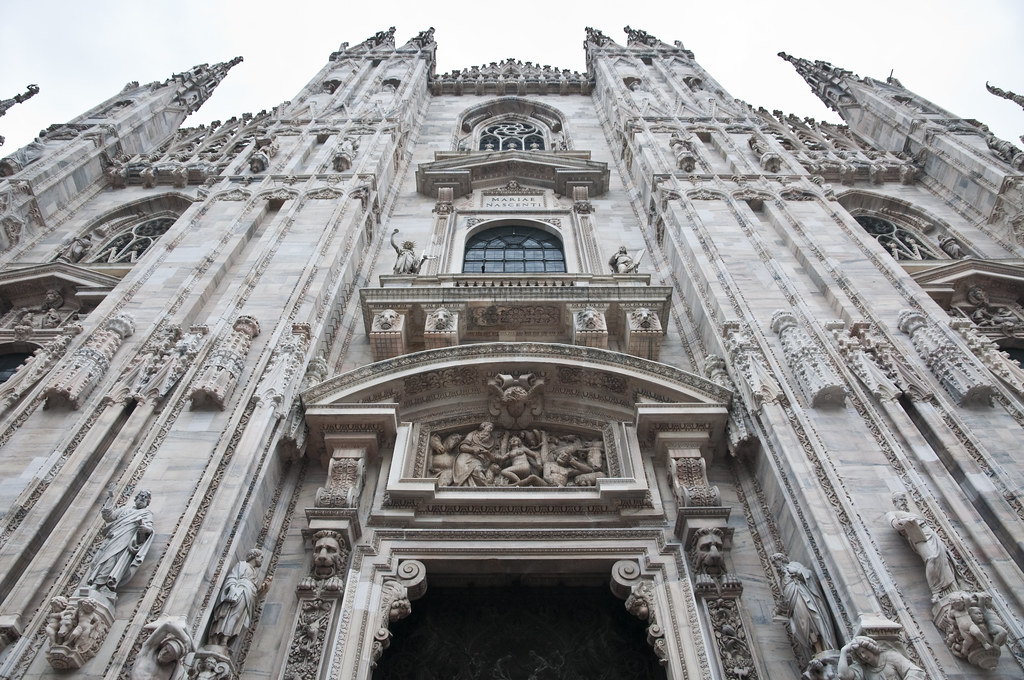 Duomo di Milano from the Front