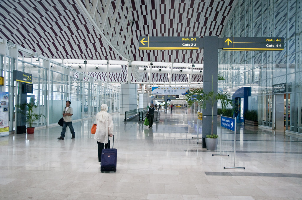 Inside Makassar's Sultan Hasanuddin Airport