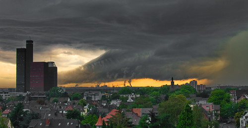 Extreme weather in Cologne