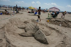 Sand Sculpting Contest