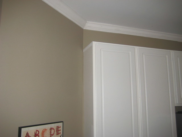 Crown Molding Cutting Kitchen Angles Cabinets