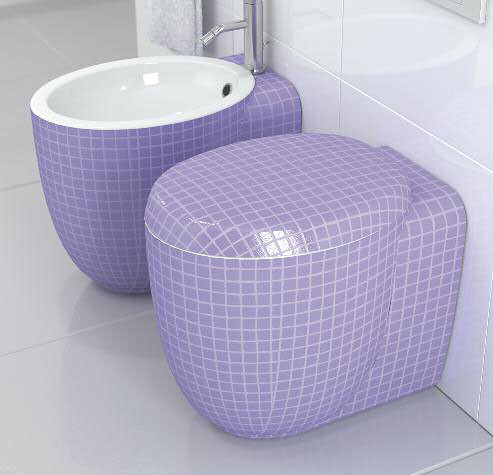 Design Inspiration: Stylish Toilets and Bidets Design from Stile