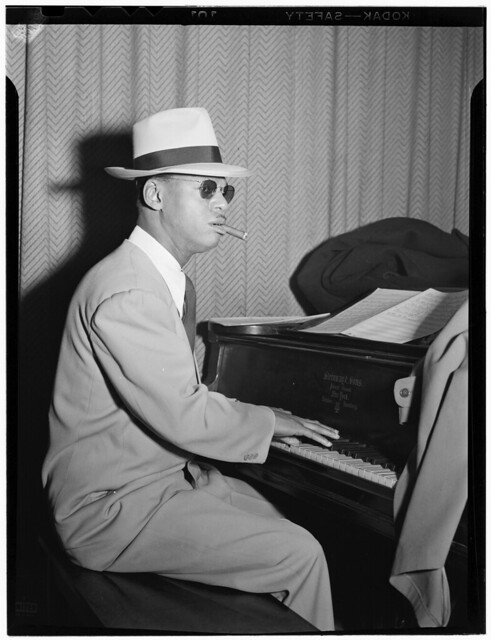 [Portrait of Earl Hines, New York, N.Y., ca. Mar. 1947] (LOC)