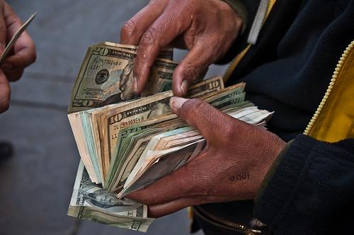 Street Money Exchange