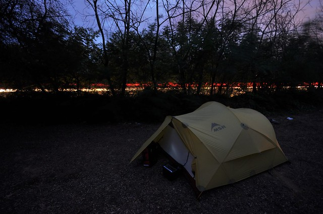 Wild camping in Italy