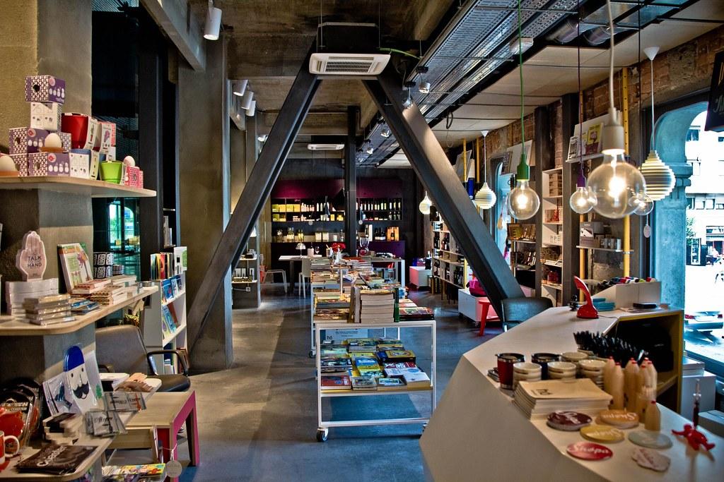 Shopa (tienda) de Alhóndiga Bilbao