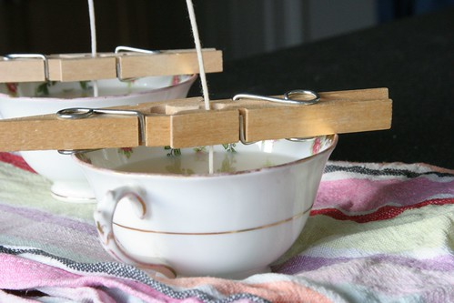 52 crafts in 52 weeks: Soy teacup candles