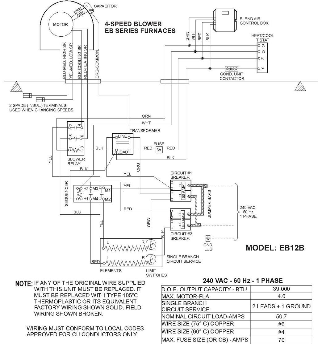 Eb15b Instalation Instructions Coleman Air Handler Eb15b Wiring Damage Fan Relay