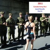 Canada Army Run 2011: local results, photos  (Part A)