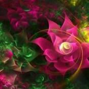 flowers wallpaper - 3d abstract wallpaper for walls online.