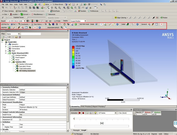 Working with Cadfem FKM inside ANSYS v18 for ANSYS 17.2-18.1 full license
