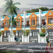 3d beautiful row houses_www.3dpower.in_3d rendering services