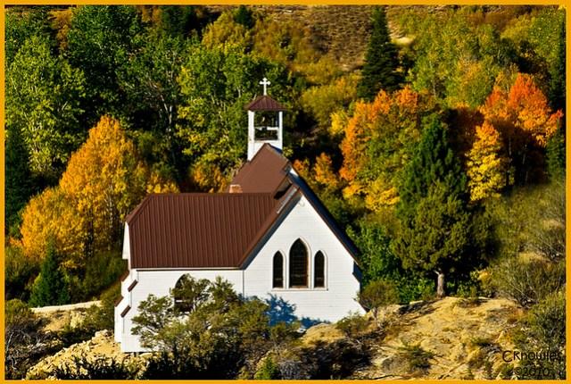 Small Church in Silver City Idaho