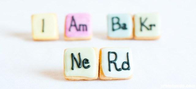 Tabela Periódica Cookies: I Am BaKr; NeRd