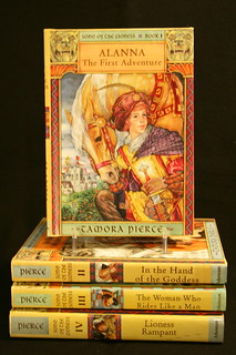 Songs of the Lioness Series by Tamora Pierce