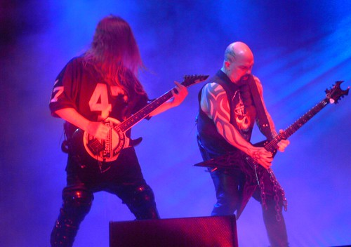 Jeff Hanneman and Kerry King of Slayer