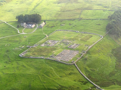 Housesteads from the air