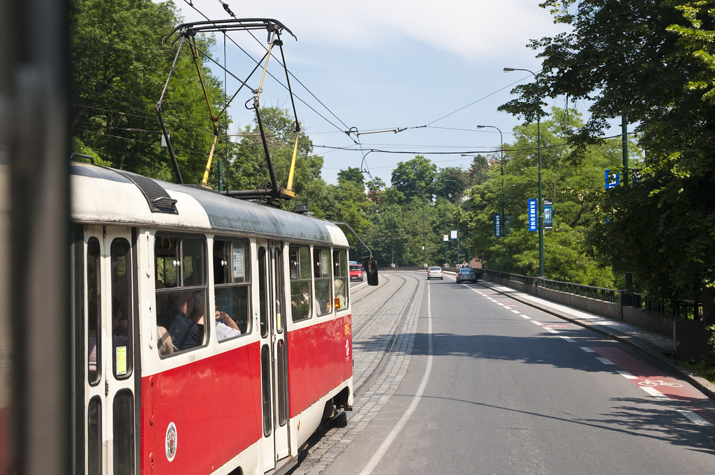 Tram Ride to Prague Castle