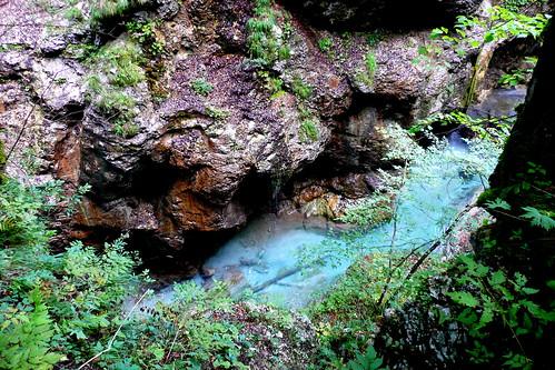 Tscheppaschlucht cold stream