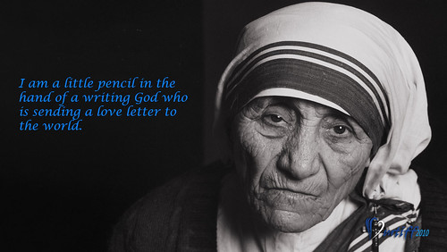 Mother Teresa Wallpaper Quote by FredMikeRudy