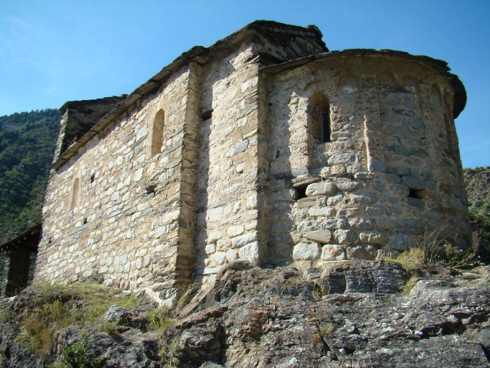 Iglesia de San Roman Les Bons Encamp Andorra 04