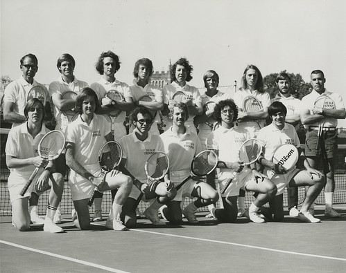 Men's Tennis Team, 1975