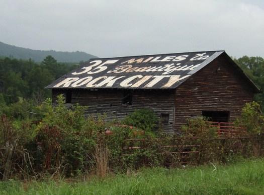 Barn, See Rock City, NE Alabama