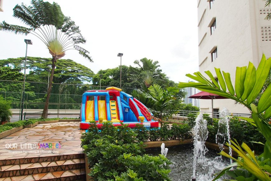 Furama RiverFront Hotel Bouncy Castle