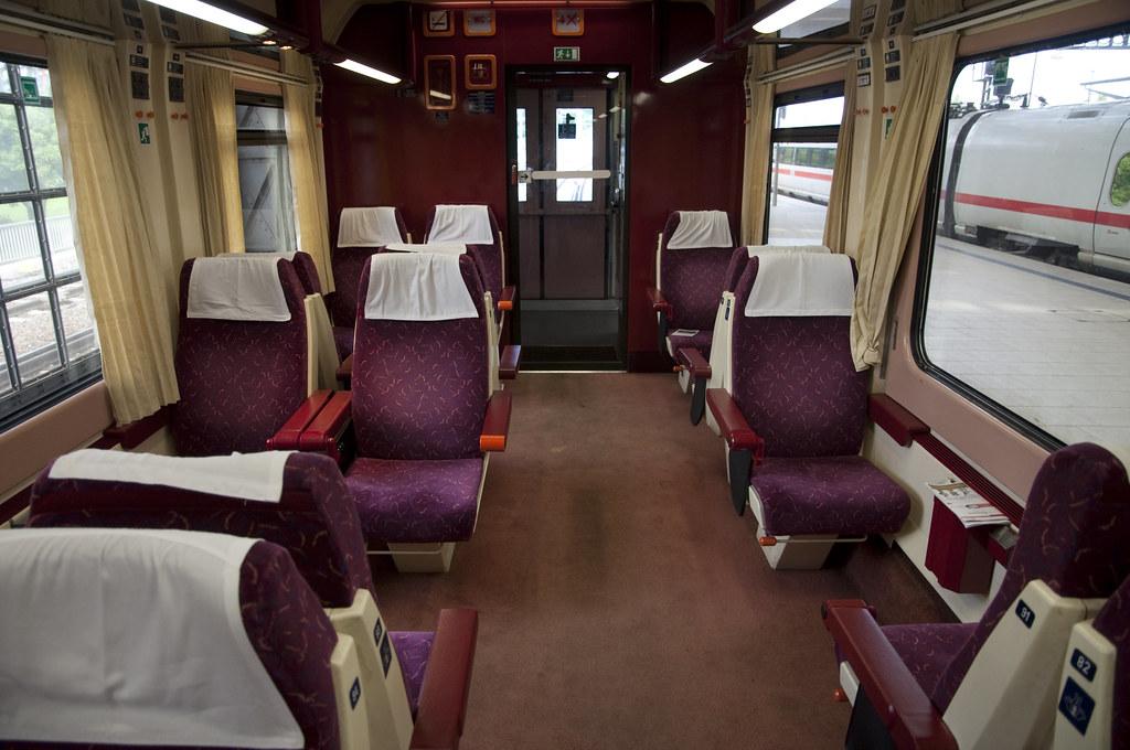 EuroCity 1st Class Cabin to Prague