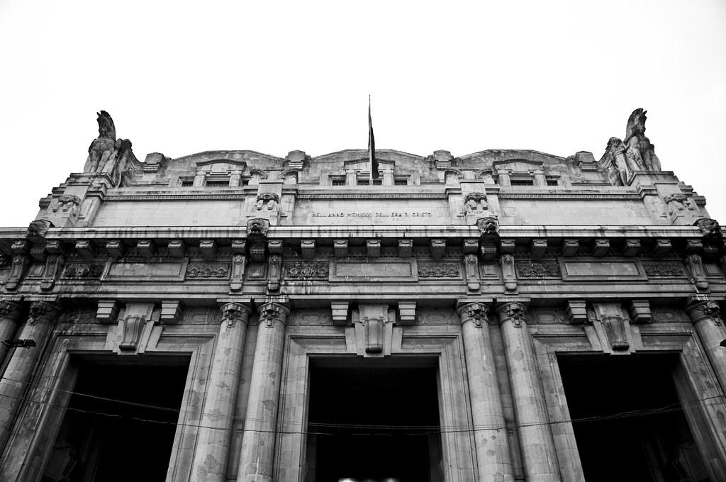 Front Facade of Milano Centrale