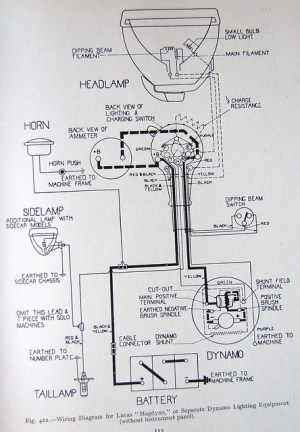 Wiring Diagram  Lucas | Flickr  Photo Sharing!