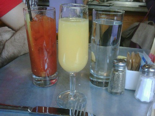 my first mimosa. :)