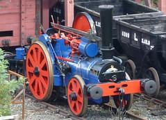 "Aveling & Porter Rail Locomotive 9449 ""The Blue Circle"""