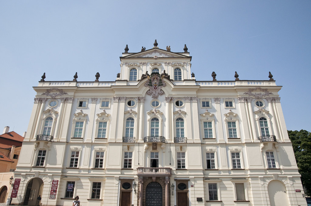 Facade of the Arcibiskupský palác‎