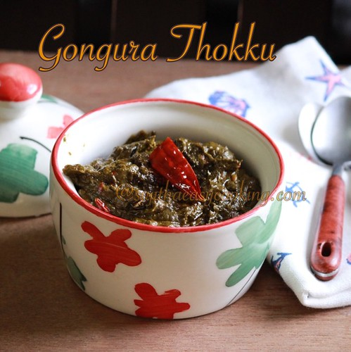 Gongura Thokku3