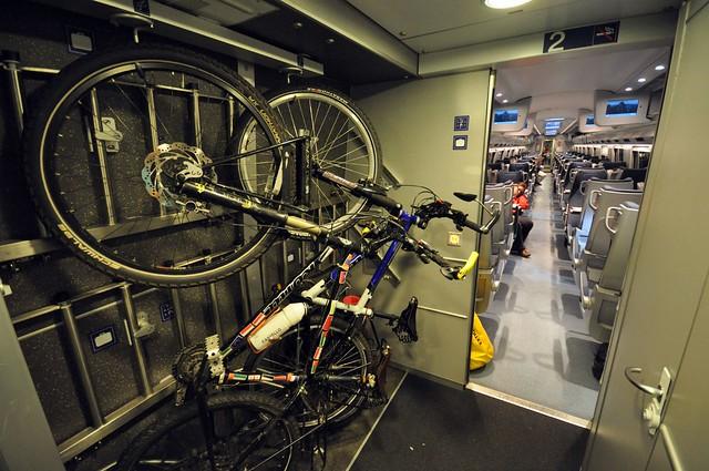 Bike transport on Eurostar