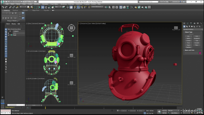 3ds Max Hard Surface Modeling Basics Videos Click To Download Items Which You Want