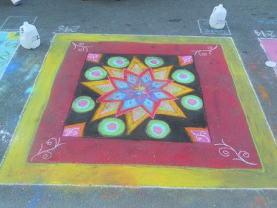 Chalk Drawing 12