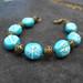 The Vintage Turquoise Dragonfly Bracelet