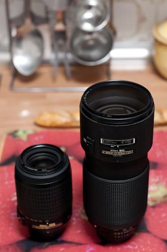 Nikon 55-200 f/4-5.6 VR vs Nikon 80-200 f/2.8